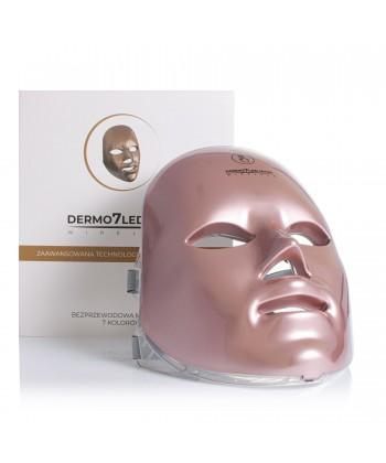 Bezprzewodowa maska DERMO 7 LED MASK