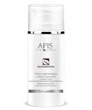 APIS Regeneration krem regenerujący z olejem arganowym i masłem shea dla suchej skóry, przywracający równowagę hydrolipidową