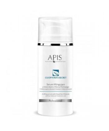 APIS Sekret Kleopatry profesjonalne serum liftingujące do pielęgnacji domowej twarzy z minerałami z Morza Martwego