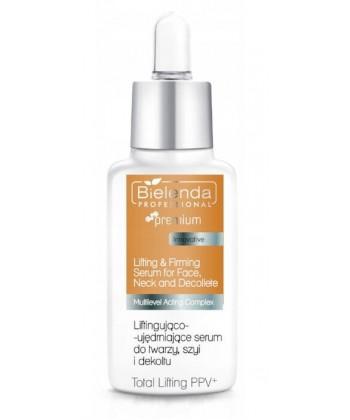Bielenda Professional Liftingująco-ujędrniające serum do twarzy, szyi i dekoltu 30ml