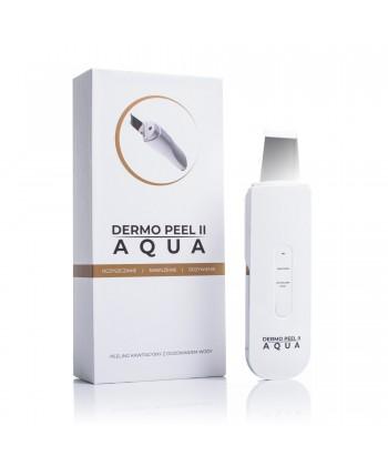Peeling kawitacyjny przy pomocy profesjonalnego aparatu kosmetologicznego Dermo Peel II Aqua