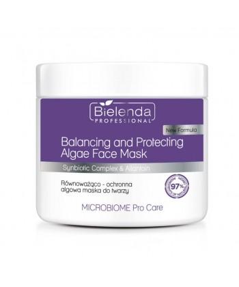 Bielenda Microbiome maseczka z prebiotykami i probiotykami do skutecznej odbudowy oraz ochrony skóry na twarzy