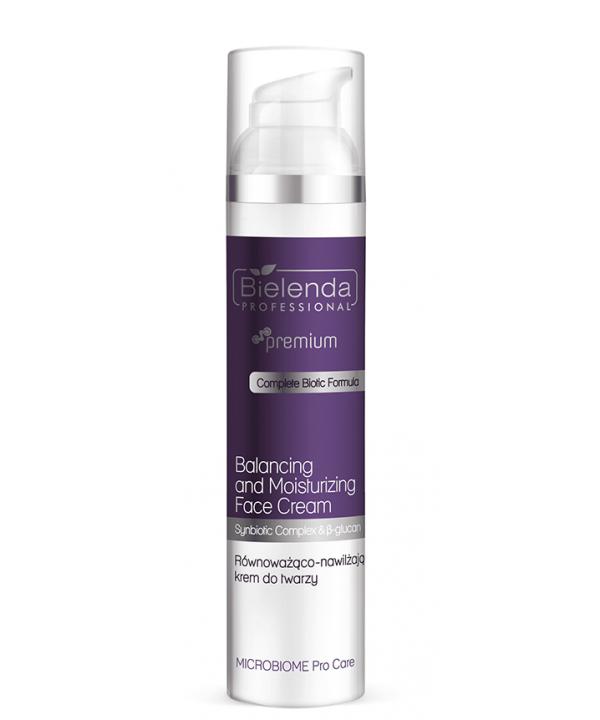 Produkt z serii Microbiome Pro Care regeneruje i wzmacnia struktury skóry na twarzy