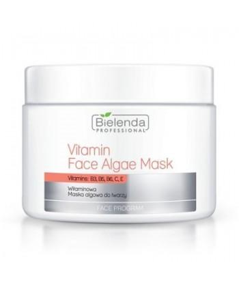Bielenda Professional witaminowa maseczka algowa do pielęgnacji twarzy dla każdego rodzaju cery