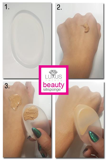 Niesamowity efekt krycia za pomocą gąbki silikonowej do makijażu