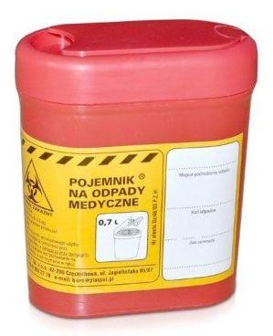 Pojemnik na odpady medyczne jest nieodłącznym elementem każdego salonu kosmetycznego