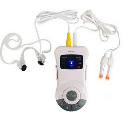 Urządzenie wykorzystuje niską częstotliwość impulsu elektrycznego i promieniowanie podczerwone do stymulowania punktów akupunktury