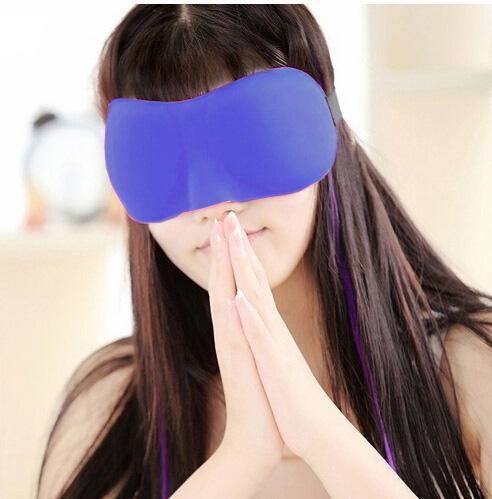 Maska wykonana z delikatnego materiału pozwala na komfortowy sen i odprężenie