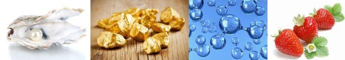 Wykorzystane nano złoto przyspiesza wchłanianie składników aktywnych i oczyszcza skórę