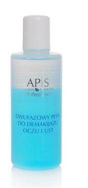 Płyn dla wszystkich rodzajów cery usuwa makijaż, nie pozostawiając tłustej warstwy na skórze i rzęsach