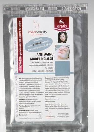 Maseczka anti aging zapewnia skórze młody wygląd i wygładza zmarszczki