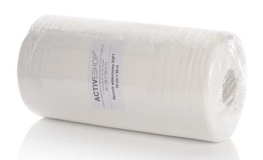 Ręczniki z włókniny doskonale nadają się do salonów kosmetycznych, fryzjerskich a także gabinetów lekarskich
