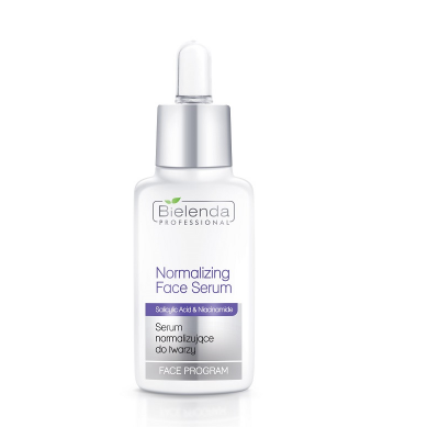 Serum do pielęgnacji cery łojotokowej i trądzikowej dezynfekuje skórę oraz hamuje rozwój bakterii