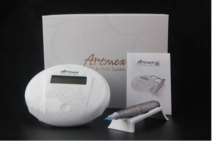 Aparat kosmetyczny pozwala na programowanie częstotliwości, odpowiednich dla wybranych procedur makijażu permanentnego