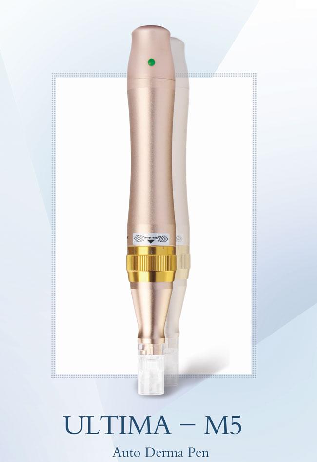 Skuteczne urządzenie do wygładzania zmarszczek dzięki mikronakłuwaniu skóry
