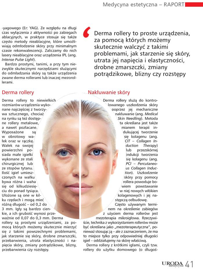 Raport medycyny estetycznej napisany przez Dr Przemysława Styczeń