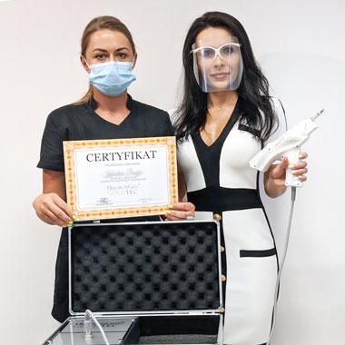 Gwarancja posprzedażowej opieki mgr kosmetologii z wykształceniem medycznym