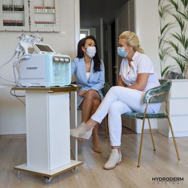 Oczyszczanie wodorowe jest inspirowane koreańską pielęgnacją skóry