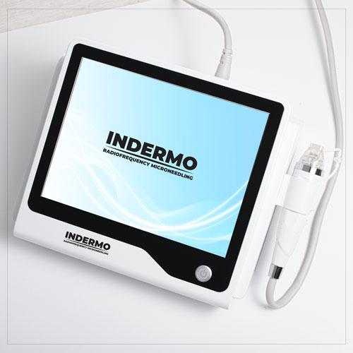 Radiofrekwencja mikroigłowa urządzeniem kosmetologicznym Indermo Radiofrequency Needling
