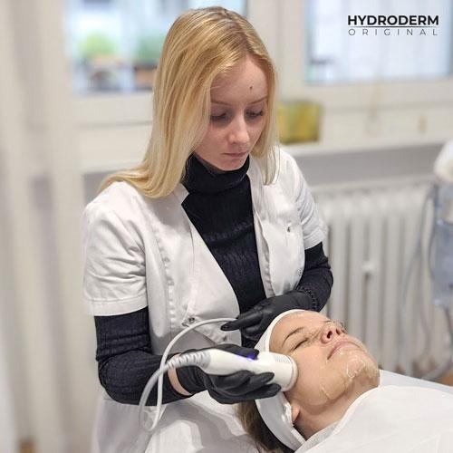 Zabieg wykonany przy użyciu Hydroderm nie wymaga rekonwalescencji