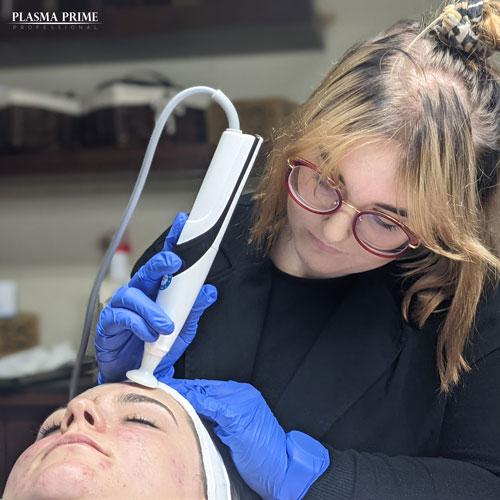 Głowica zabiegowa jest wykorzystywana w różnych problemach skórnych