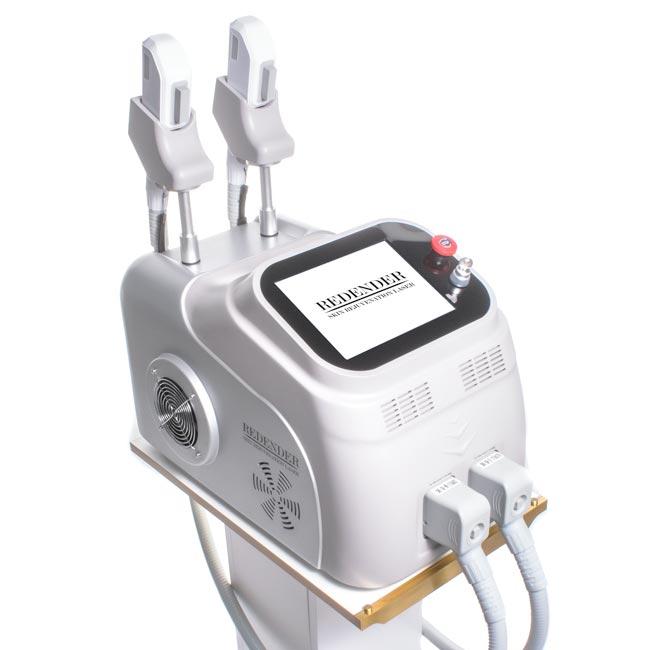 Zaawansowana maszyna wykorzystuje unikalną technologię potrójnej fali - impulsów w 3 zakresach
