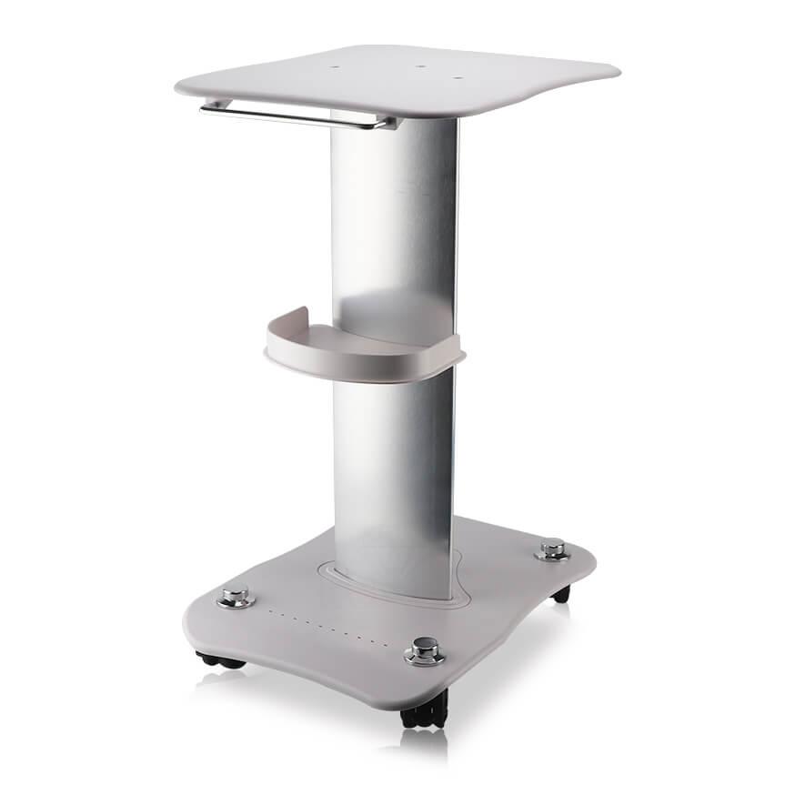 Nowoczesny stolik kosmetyczny to solidna metalowo-plastikowa konstrukcja