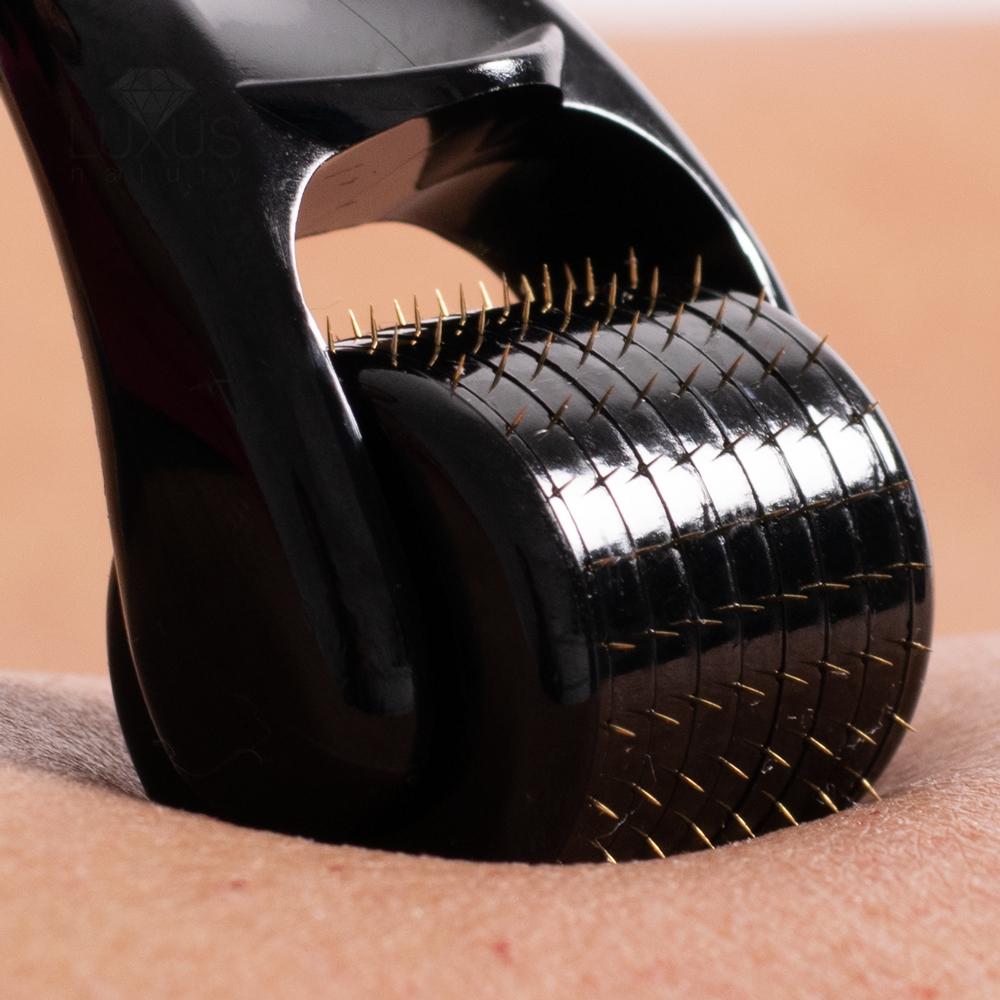 Wałek z mikroigłami do rolowania ciała dla każdego typu skóry
