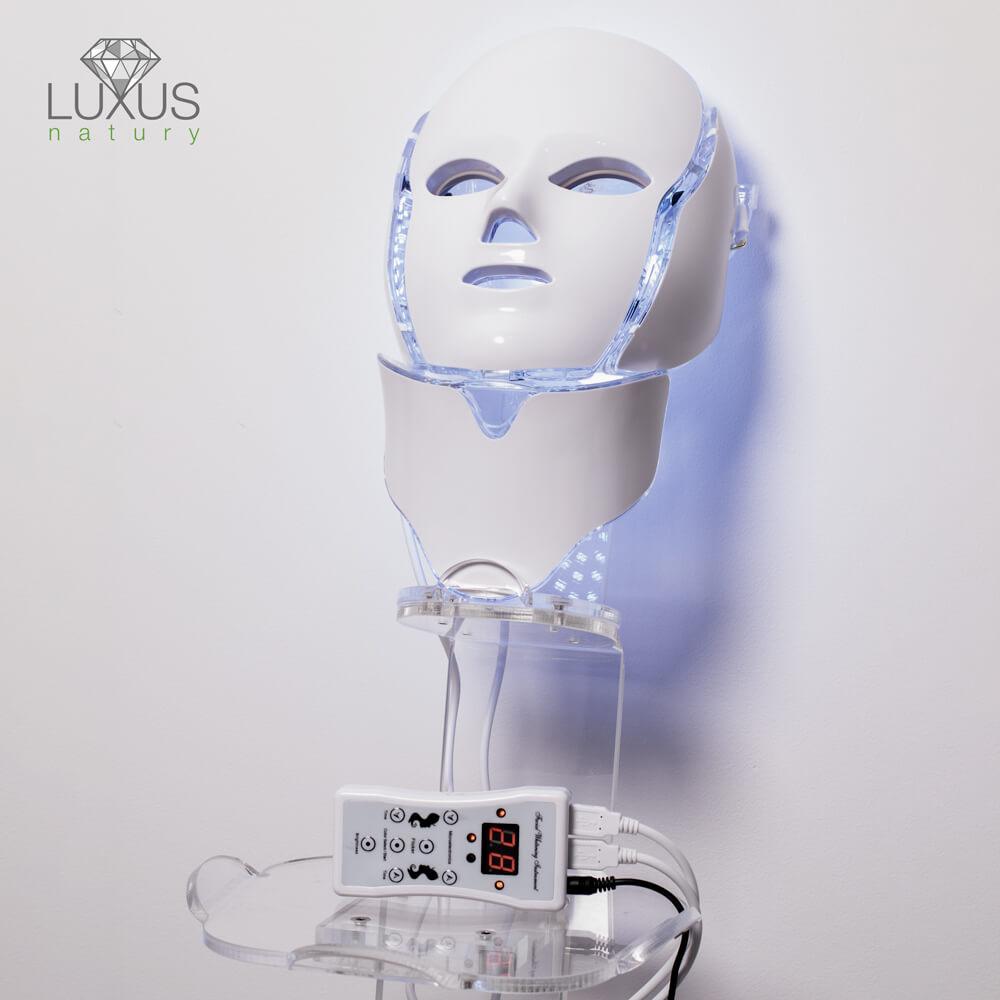 Maska ledowa - 7 kolorów super cena