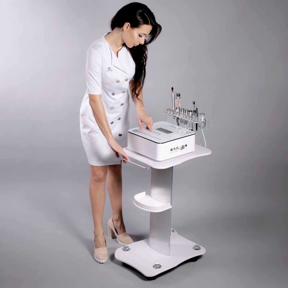 Urządzenie zapewnia wysoką skuteczność zabiegową a także natychmiastowe efekty