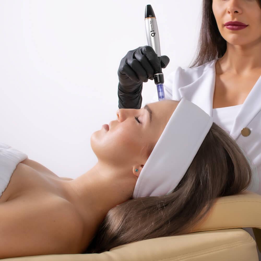 Jak wygląda zabieg mikronakłuwania skóry?