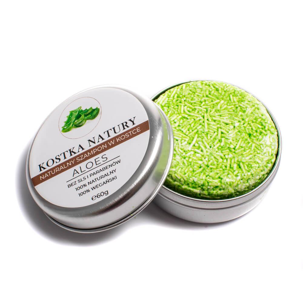 Naturalne składniki na bazie aloesu skutecznie odbudowują zniszczone włosy