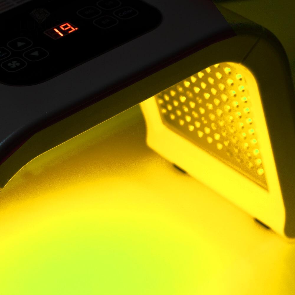 Światlo żółte odżywia i dotlenia komórki