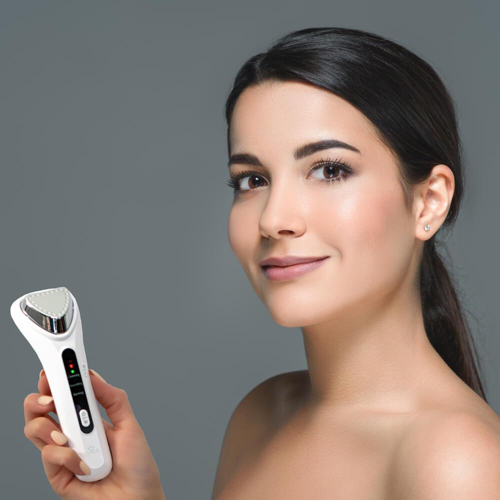 Urządzenie przeznaczone do masażu twarzy i ciała