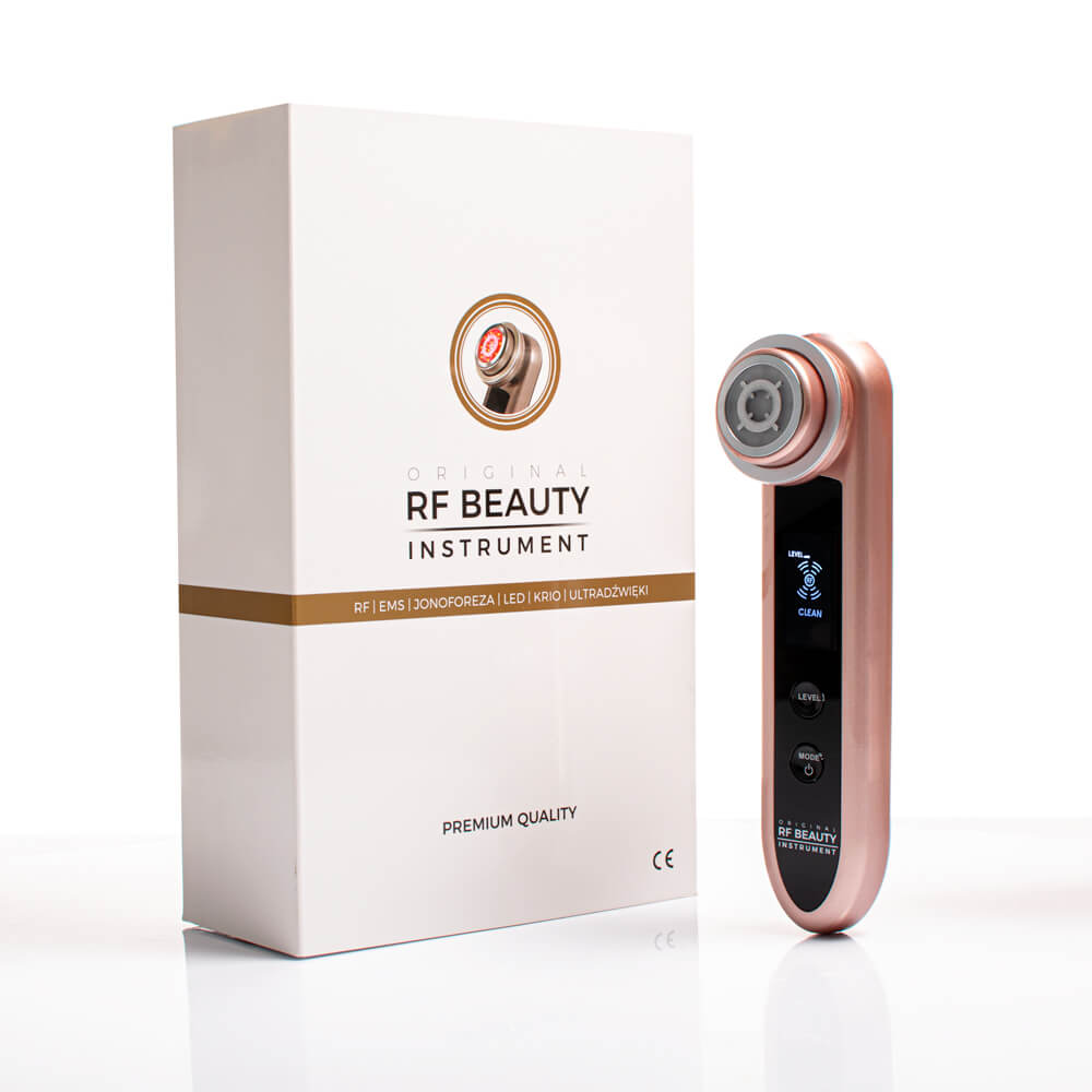 Urządzenie zdecydowanie regeneruje skórę i zwiększa produkcje włókien kolagenowych