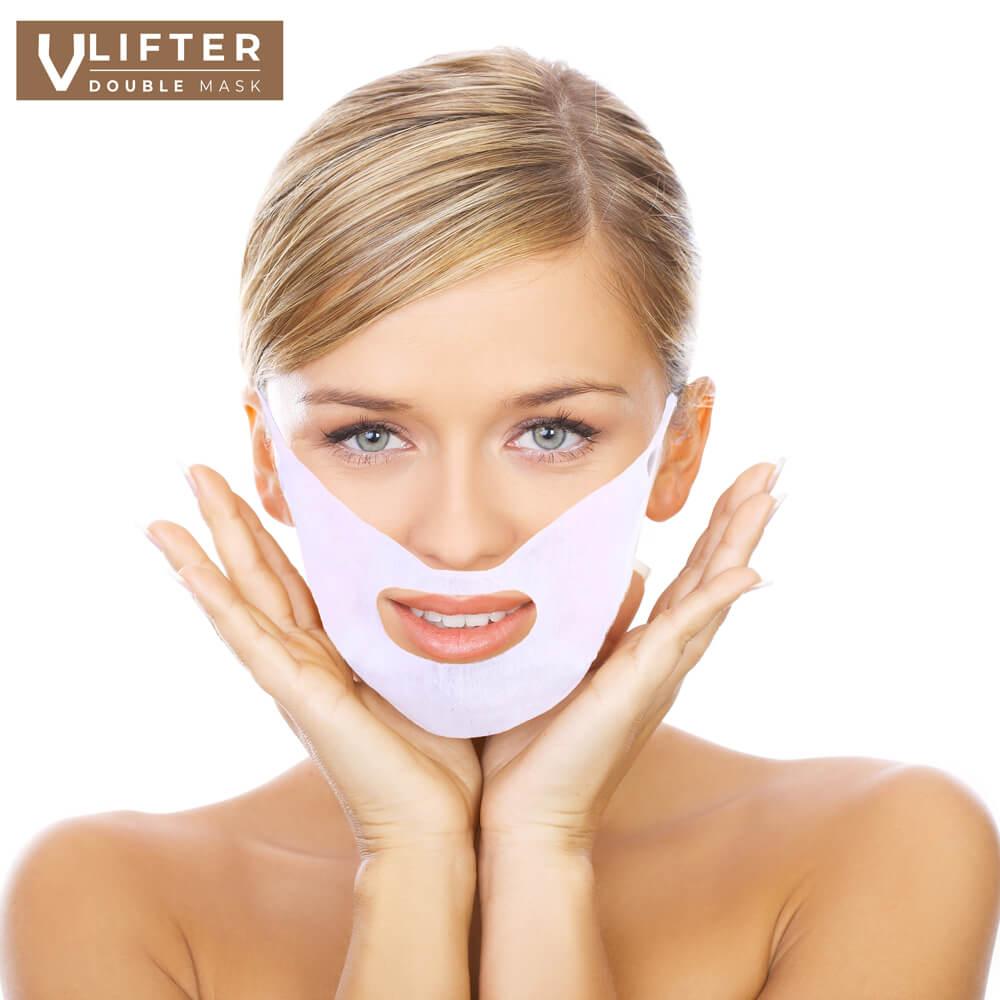 Kuracja napina skórę twarzy i redukuje zmarszczki