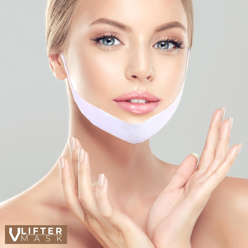 Hydrożelowa maseczka remodelująca i wyszczuplająca owal twarzy