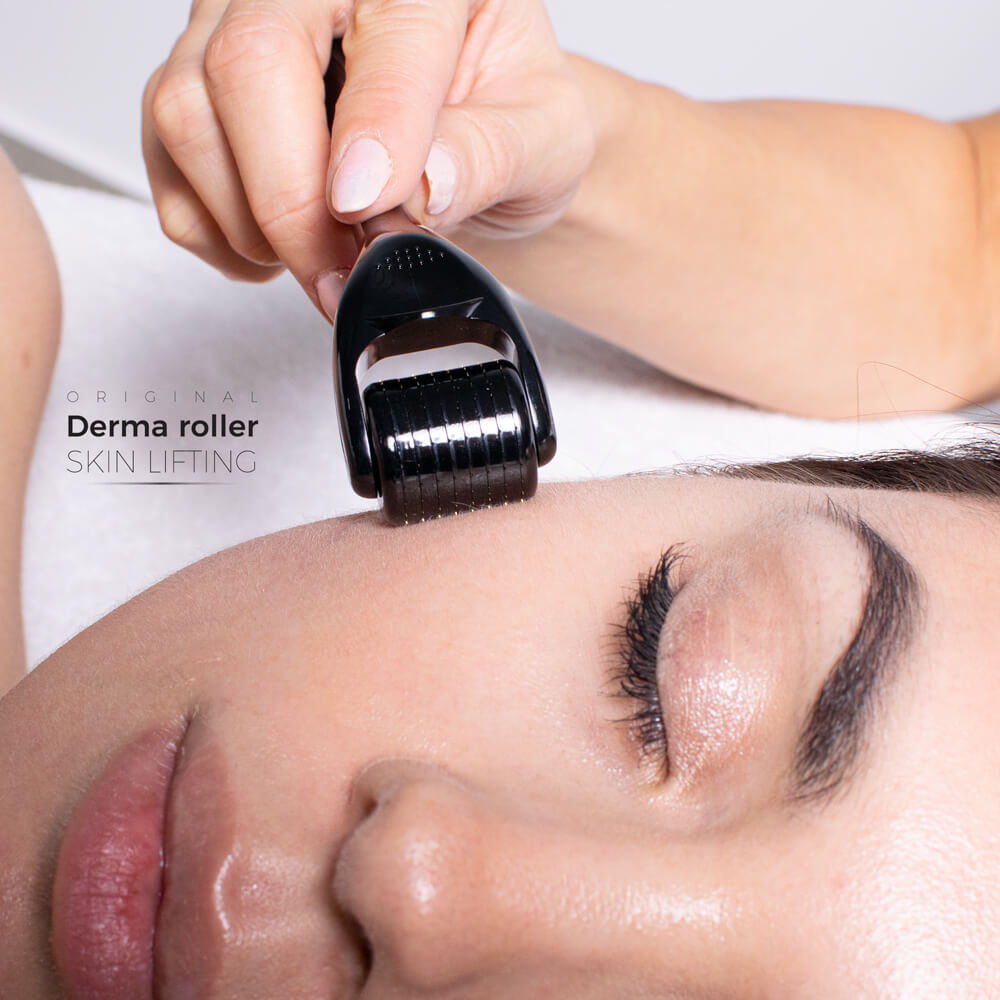 Derma Roller Skin Lifting mamy możliwość łatwiejszego nakłuwania skóry