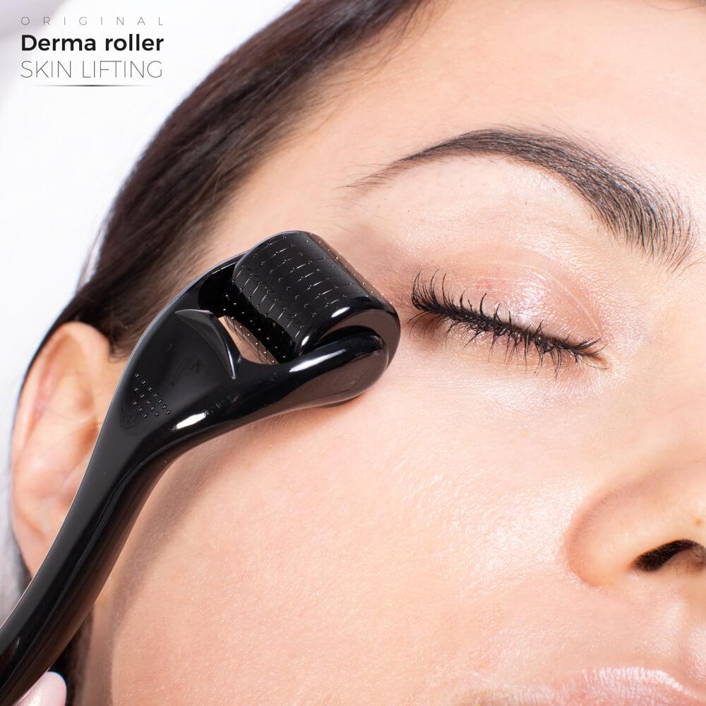 Mezoterapia mikroigłowa urządzeniem Derma Roller Skin Lifting