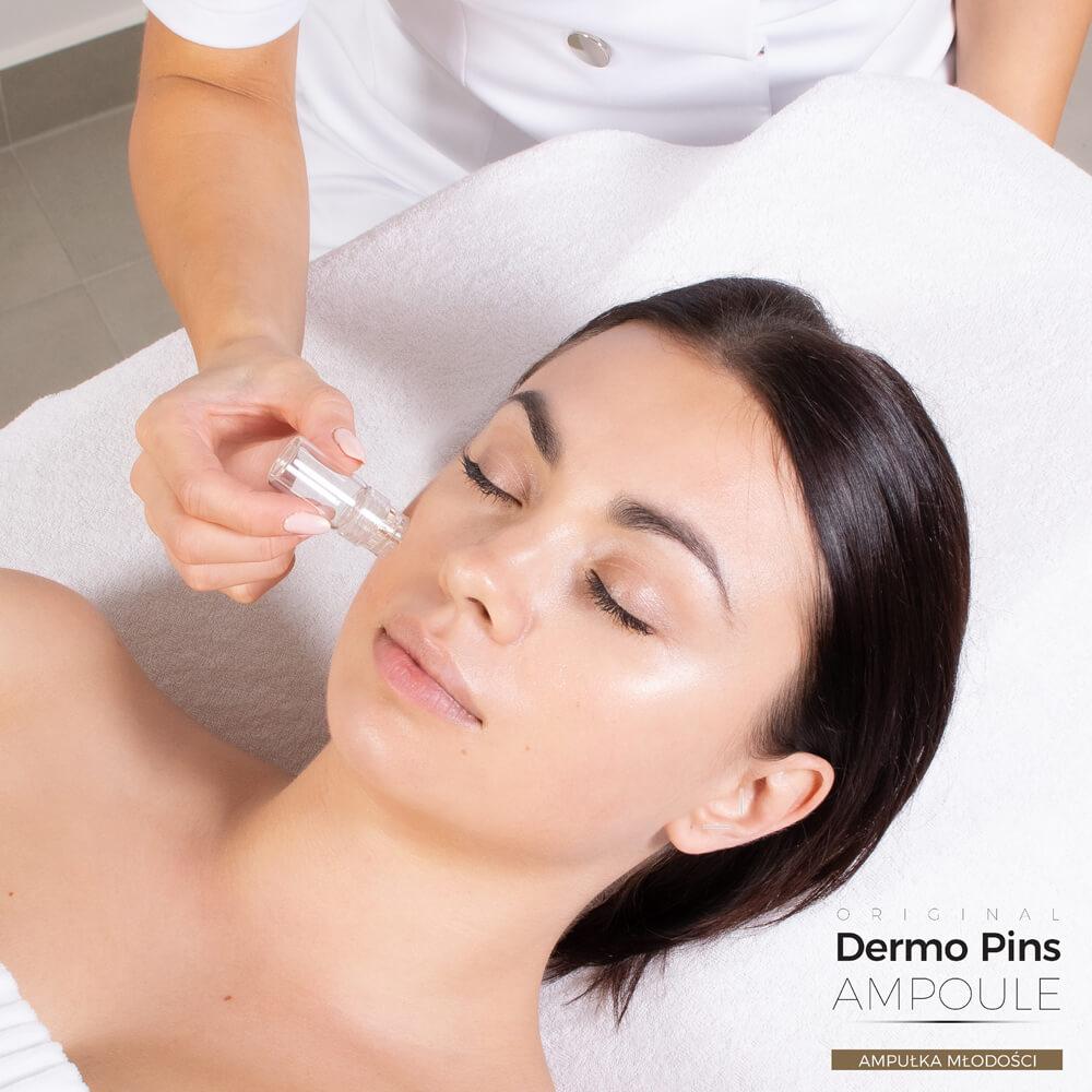 Dermo Pins jest urządzeniem mezoterapii mikroigłowej