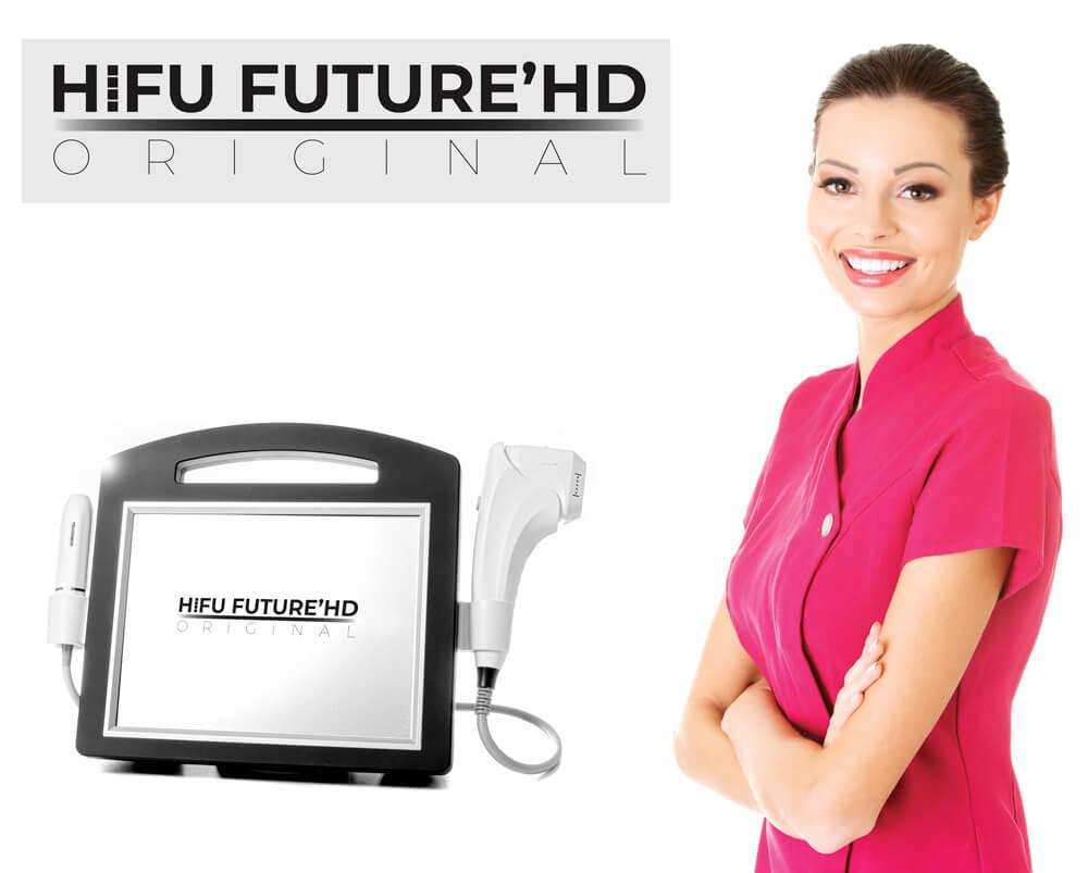HIFU Future HD Original to urządzenie wykorzystujące najnowszą generacje rewolucyjnej technologii HIFU