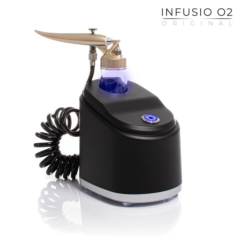 Infusio O2 Original to infuzja tlenowa w domu lub gabinecie kosmetologicznym