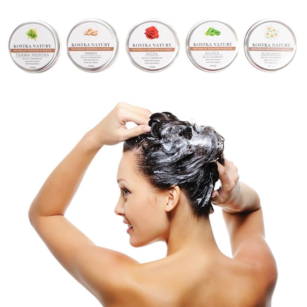 Mycie szamponem w kostce jest nieco inne od sposobu nakładania tradycyjnego szamponu