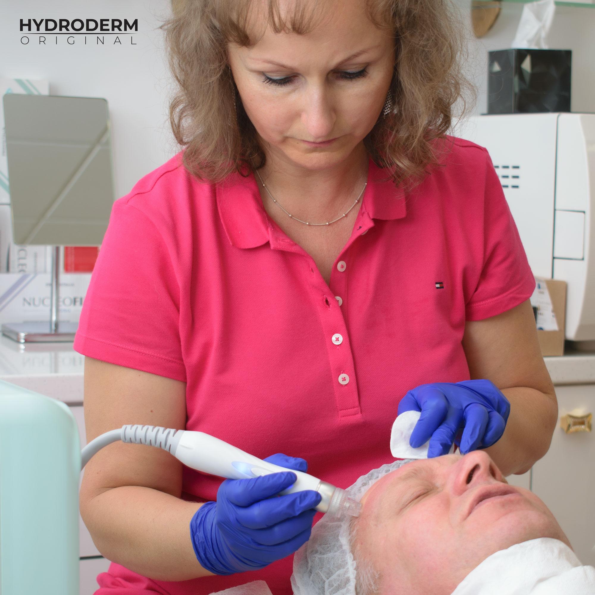 Oprócz oczyszczania skóry następuje również dogłębne dotlenienie komórek i lifting