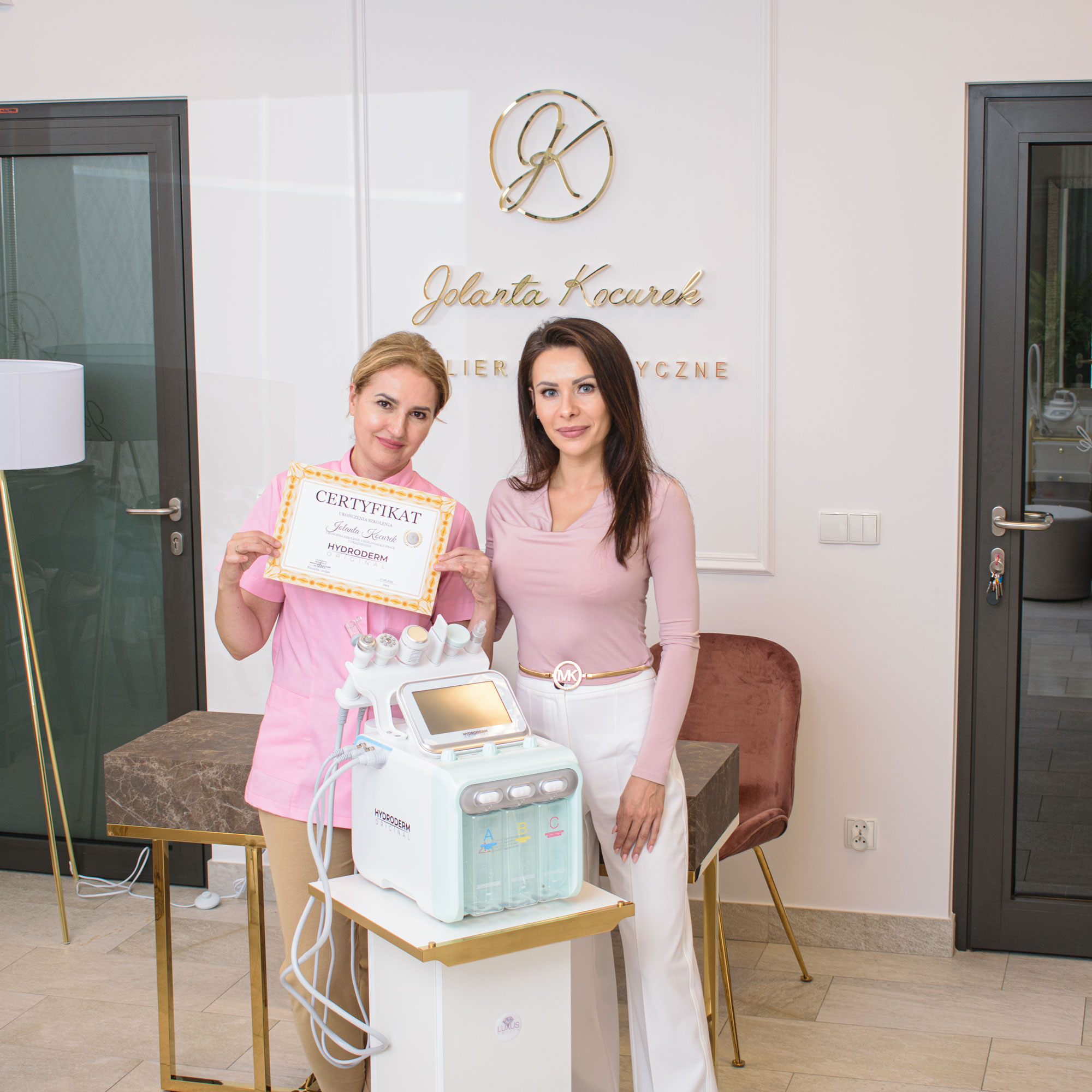 Po szkoleniu można bez obaw przeprowadzać zabiegi oczyszczania wodorem w swoim salonie kosmetologicznym