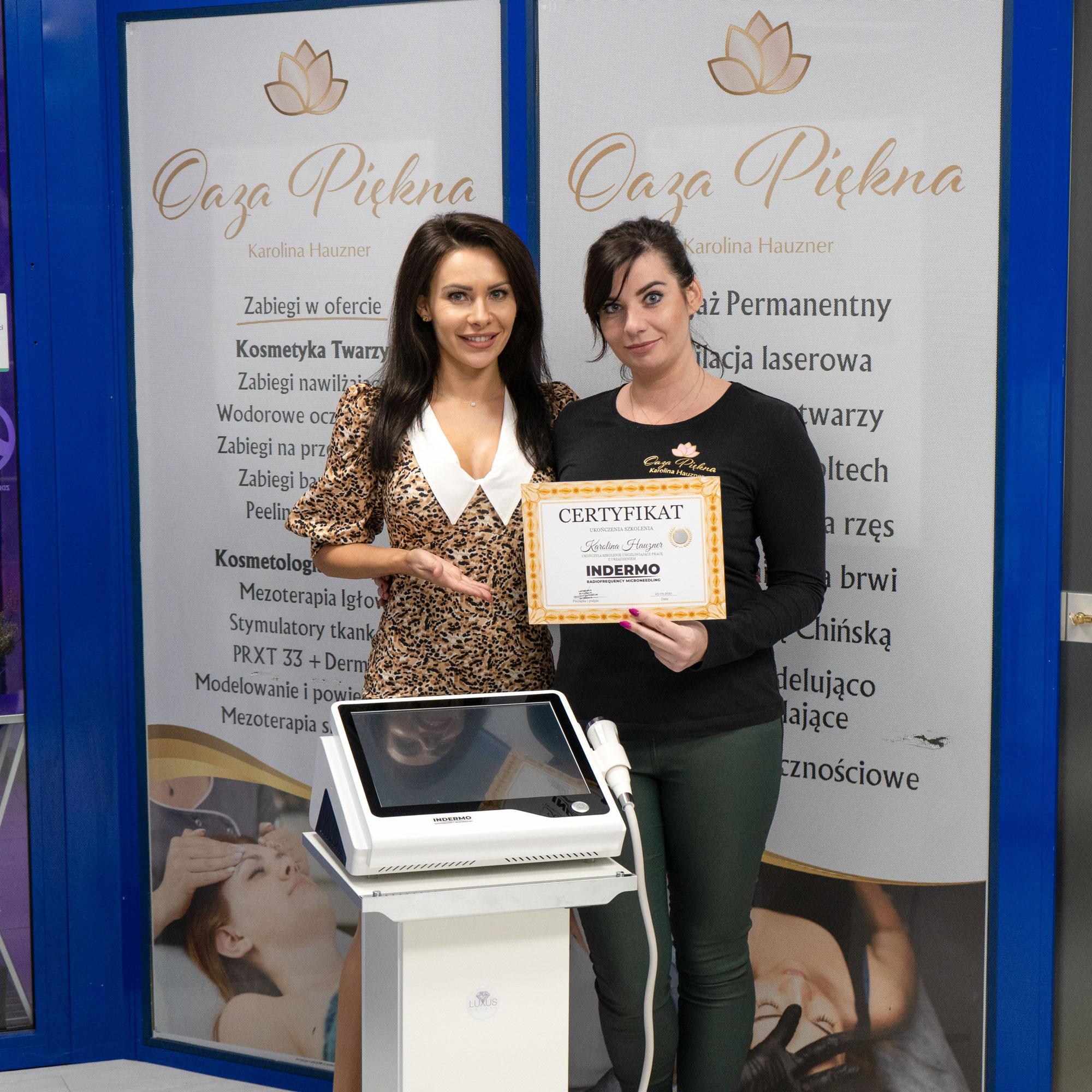 Szkolenia z RF mikroigłowy przeprowadzamy w gabinetach kosmetologicznych na terenie całej Polski