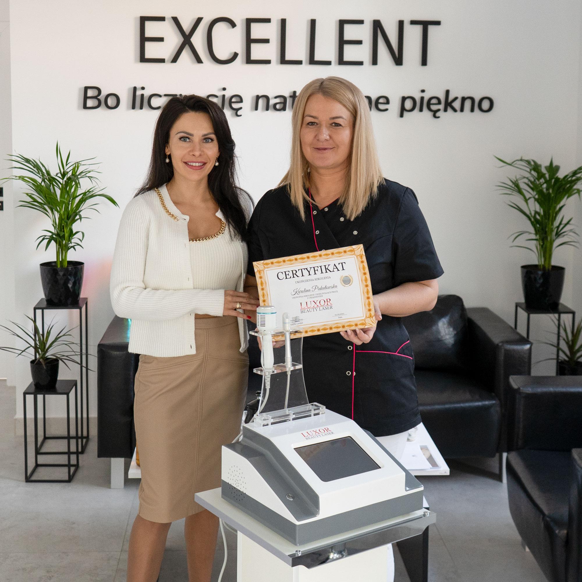 Kolejne szkolenie kosmetologiczne, które odbyło się w miłej atmosferze bez problemów w mieście Ciechanów