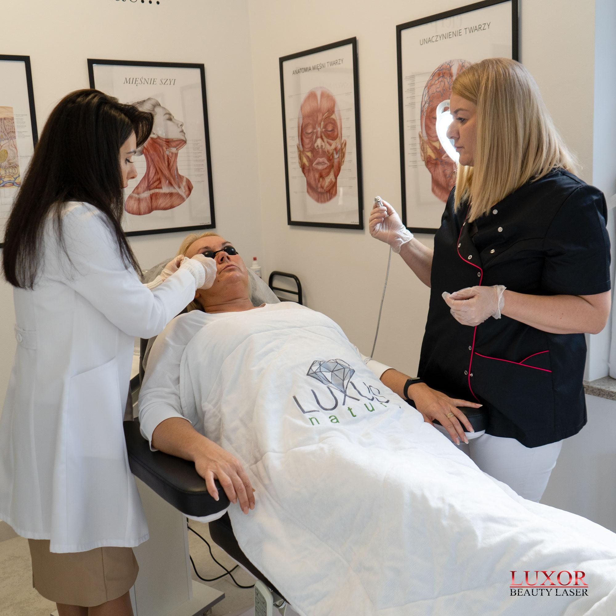 Luxor Beauty Laser to maszyna z laserem diodowym niezbędnym w każdym gabinecie kosmetologicznym