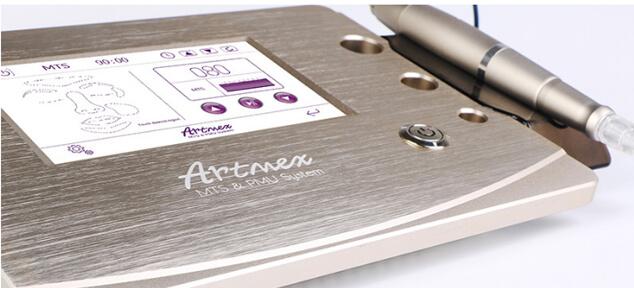 Profesjonalne urządzenie służy do mikronakłuwania i pigmentacji skóry