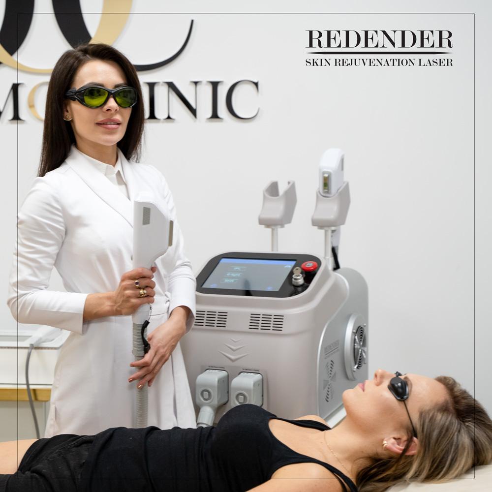 Aby odbudować włókna kolagenowe na ciele i twarzy zastosuj laser multifukcyjny Redender